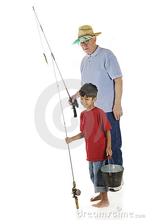 Going Fishing with Grandpa
