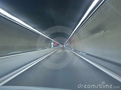 Going through Gotthard tunnel