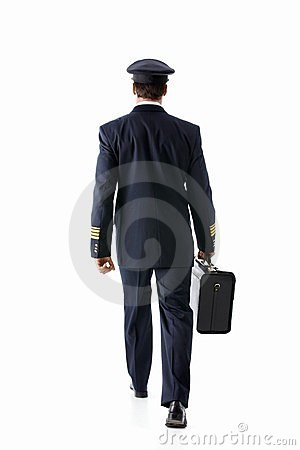 Going Pilot Royalty Free Stock Photo - Image: 23994495