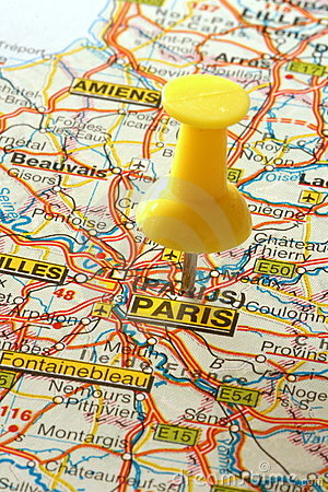 Free Going To Paris Royalty Free Stock Photography - 7227727