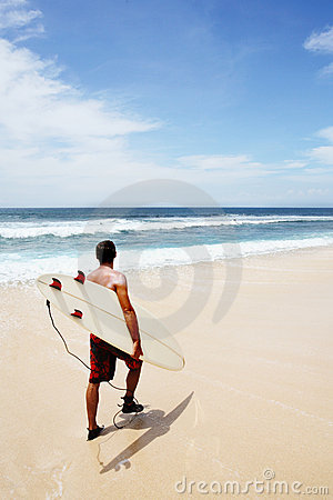 Free Going To Surf Royalty Free Stock Photography - 398077