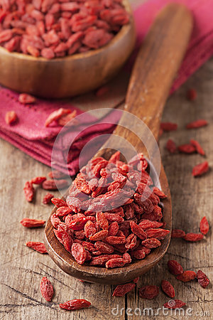 Free Goji Berries Royalty Free Stock Photography - 40201677
