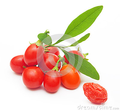 Free Goji Berry Isolated Royalty Free Stock Image - 35587506