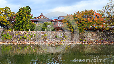 Gokoku Shrinein Hiroshima Castle