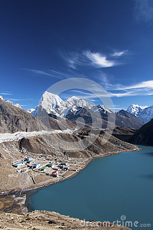 Free Gokyo Ri - View Of Lake No3 Stock Images - 26283854