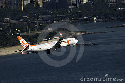 GOL airlines, Rio de Janeiro, Brazil Editorial Stock Photo