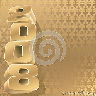 Gold 2008 yen