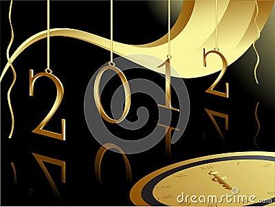 Gold 2012 card