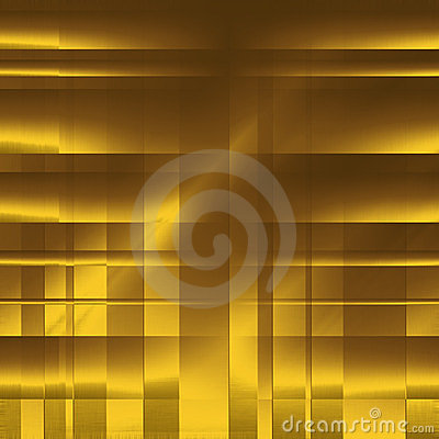 Gold abstract blocks as background