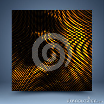 Free Gold And Black Mosaic Abstract Background Royalty Free Stock Image - 34811006