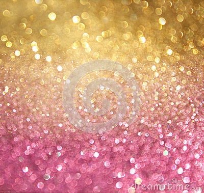 Free Gold And Pink Abstract Bokeh Lights. Defocused Background Royalty Free Stock Photos - 36170108
