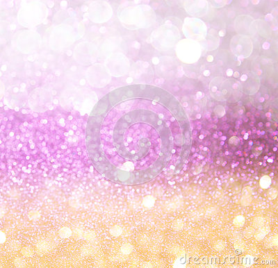 Free Gold And Pink Abstract Bokeh Lights. Defocused Background Stock Images - 38183644