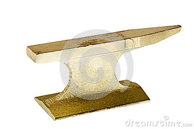 Gold anvil