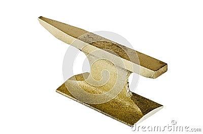 Gold anvil