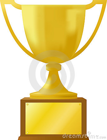 Free Gold Award Trophy/ai Stock Photo - 10209020