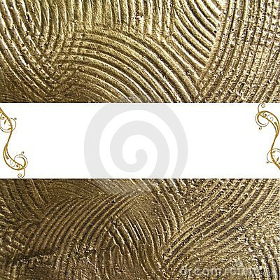 Gold background with copyspace