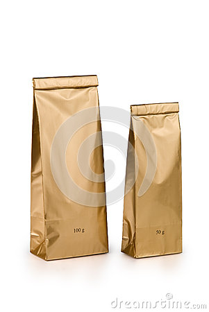 Gold bags