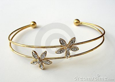 Gold Bangle II
