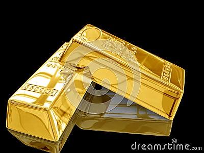 gold bar black background - photo #36