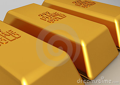Gold bars - bullion