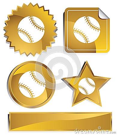 Gold - Baseball
