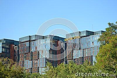 Gold Bay boarding house, Anapa, Krasnodar Krai Editorial Photography