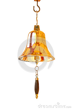 Free Gold Bell. Stock Photo - 29434150