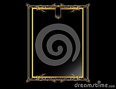 Gold Black elegant background 4