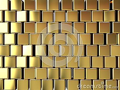 Gold block background