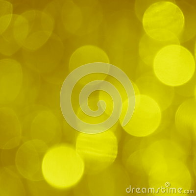Gold Blur Background - Stock Photo