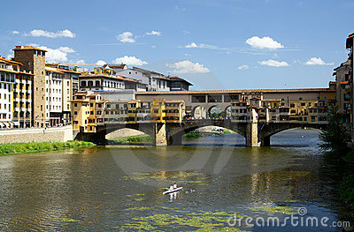Gold bridge in Firenze