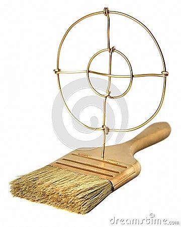 Gold brush concept