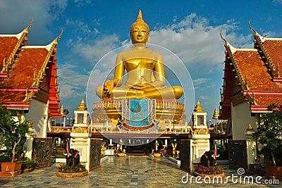 Gold buddha Editorial Photo