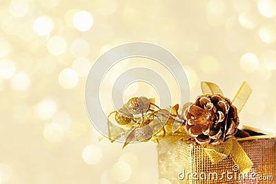 Gold bump