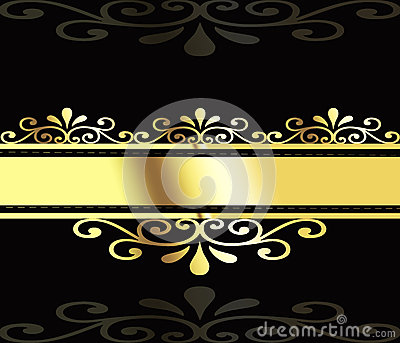 Gold business abstraction.