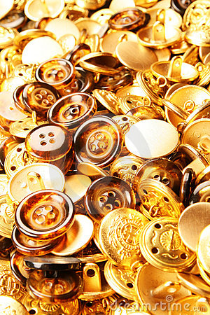 Free Gold Buttons Texture Stock Images - 4684624