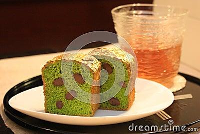 Gold cake Editorial Photo
