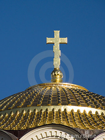 Free Gold Cathedral Dome Royalty Free Stock Photo - 1801365
