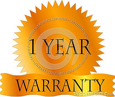 Gold Certicate 1 Year Warranty