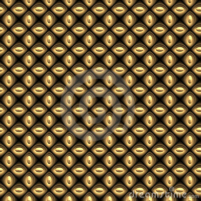 gold Chain link mesh