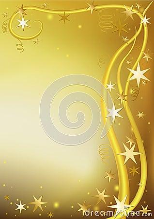 Gold Christmas Greeting
