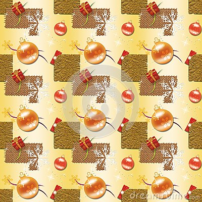 Gold Christmas Wrapping paper