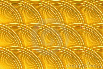 Gold Circular Disk Background