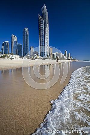 Free Gold Coast In Australia Royalty Free Stock Photos - 34763268