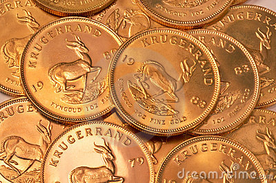 Gold coin background