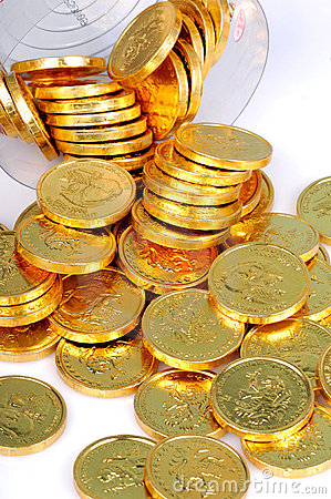 Free Gold Coins Royalty Free Stock Images - 7816569