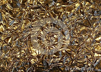 Gold Color Aluminum Foil Stock Images Image 11427644