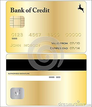 Gold Credit Card
