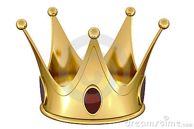 gold crown royalty free stock photos image 10104378