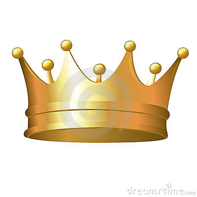Free Gold Crown Stock Photography - 18600062